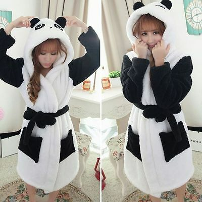 Unisex Men Women Nightwear Sleepwear Pajama animal  Gown Bath Gown Bath Robe