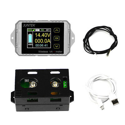 VAT1100 DC 100V 100A LCD Voltmeter/Ammeter/Power Meter/Capacity Coulomb Counter