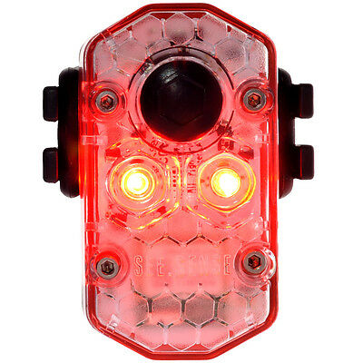 See.Sense. ICON Rear Light Bicycle USB Rechargeable CREE LED Smart Light