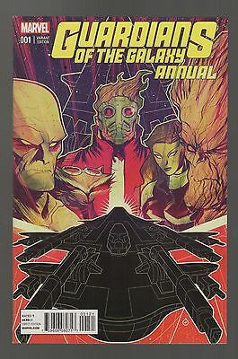Guardians of the Galaxy Annual #1 VF- Marvel Comics Variant Cover Edition (2015)