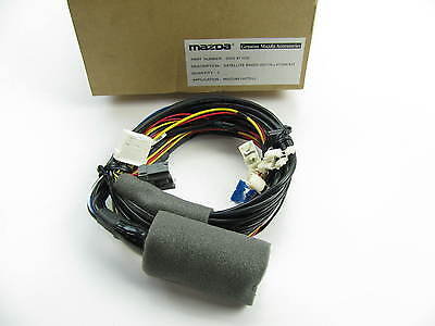 new genuine satellite radio receiver kit wire harness oem for 2011-2013  mazda 6