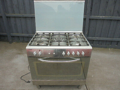 La Germania Stainless Steel Upright Stove / Oven - 900mm ,
