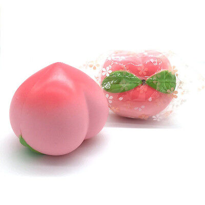 Pink New Arrival 10CM Colossal Squishy Peaches Cream Scented Slow Rising Toy
