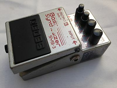 Boss Syb-3 Bass Synthesizer Effects Pedal