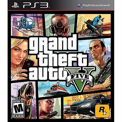 Grand Theft Auto V 5 -- Playstation 3 PS3 -- VARIOUS CONDITIONS