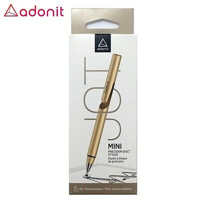 Adonit Jot Mini Fine Point Precision Stylus pour iPad iPhone iOS Android Gold DF