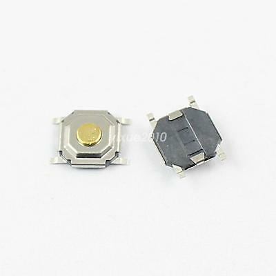 50Pcs Momentary Tactile Tact Push Button Switch 4 Pin SMT SMD 5.2x5.2x1.5mm
