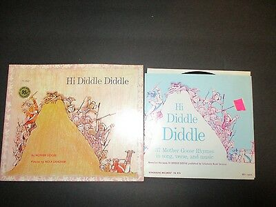 Vintage Collector Hi Diddle Diddle Book