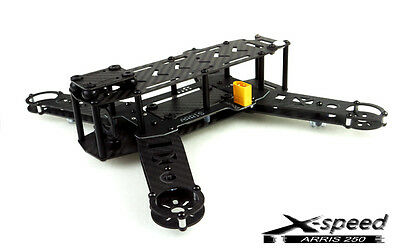 X-Speed FPV 250 Pure Carbon Fiber RC Quadcopter Frame KIT for 1806 Unassembled