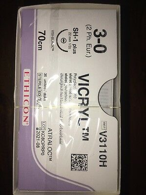Nahtmaterial Ethicon Vicryl Coated 3-0,V3110H