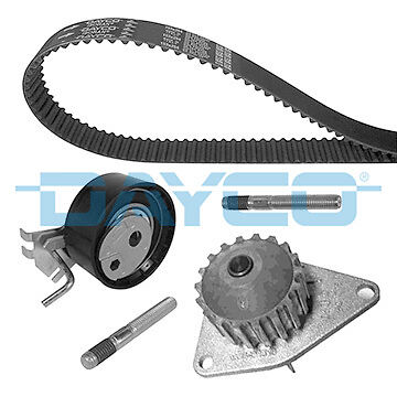 Dayco Timing Belt Water Pump Kit Ktbwp3361 Fit Peugeot 206 1.4 16V (1998-)