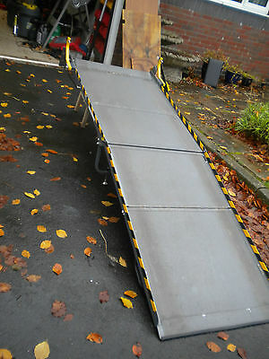 1296 Extra Large Portaramp Disabled / Wheelchair Scooter ramp 8 Ft long Used