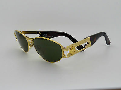 Versace Gianni Sunglasses Mod S75 Col 030 Vintage Genuine New Old Stock