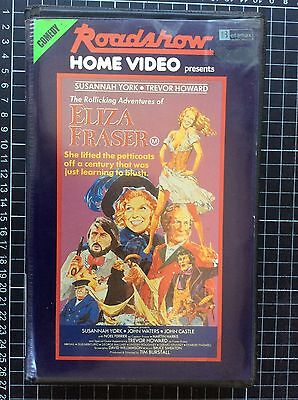 ELIZA FRASER rare Roadshow BETA not VHS Video cult Australian bawdy comedy movie