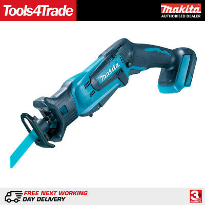 Makita DJR183Z 18V Cordless Reciprocating Saw Tool-Less Blade Clamp Body Only