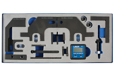 Laser Tools 6814 Timing Chain Tool Kit For Psa - Bmw - Petrol Engines Ep6 Ep3
