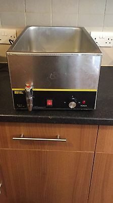 Bain Marie with 3 pots and drain nozzle