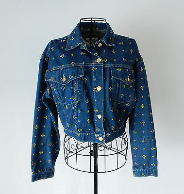 Laura Biagiotti Vintage Jacket Giacca Jeans