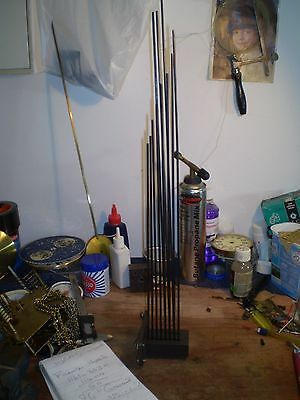 Large Hermle triple chime gongs.