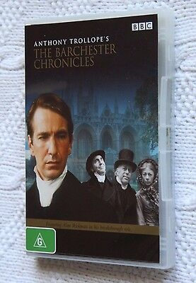 The Barchester Chronicles- Bbc (Dvd, 2-Disc) Like New, Free Post In Australia