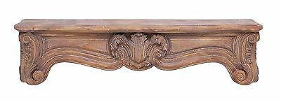 Benzara Traditional Designed Corbel with Rich Carvings and Arty Look