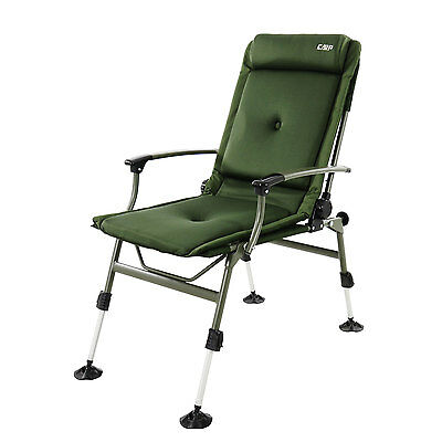 CarpZone Carp Fishing Reclining chair with arms