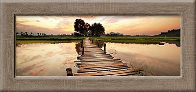 """Pro-Art an397l17 - Dipinto murale New Classic Wood Colourful VIew"""""""