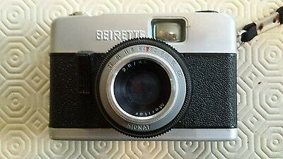 Vintage Beirette 35mm Film Camera with Priomat 2.8/45 Meritar Lens Made in DDR