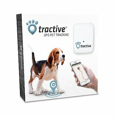 Tractive GPS Pet Tracker Dog Cat Track Lost Things Waterproof Light Small New