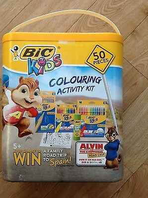 Bic Kids Colouring Activity Kit (contains 50 pieces)