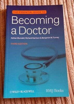 BMJ Essential Guide to Becoming a Doctor by Adrian Blundell,...