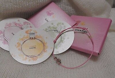 Compliment -gifts VIP- Chance chanel-charm,3 small cards with flavor