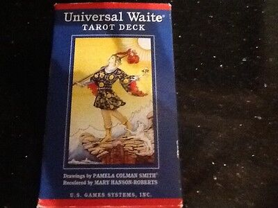 universal waite tarot cards deck