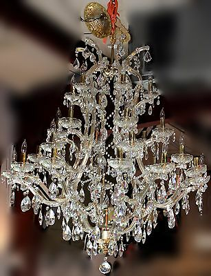 Faustig Thirty-One Light Crystal Chandelier