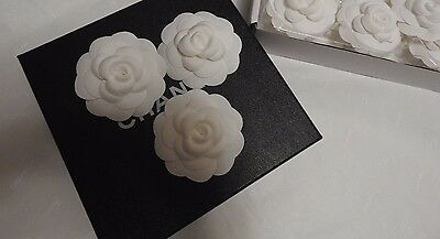 authentic -camellia cotton 3 gift from Chanel