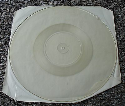 Iron Maiden The Evil That Men Do UK Test Pressing Uncut with No Pictures EMP 64