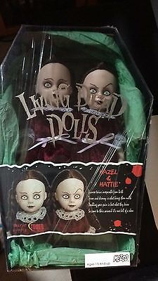 Living Dead Dolls Exclusive Rare Hazel And Hattie Theshining Excellent Condition
