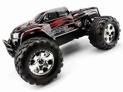 Hpi Savage Xs Flux Mini Monster Truck Brushless Rtr 2.4Ghz 4Wd 1:12 Wp Hp106571
