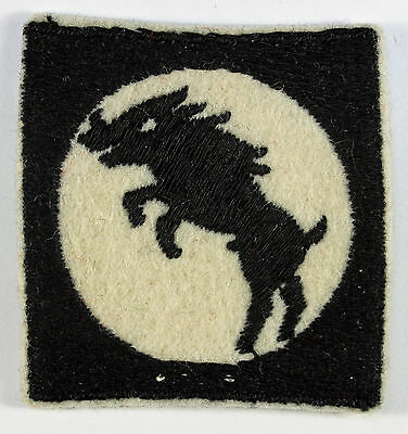 30 Corps WW2 Embroidered Formation Sign Badge