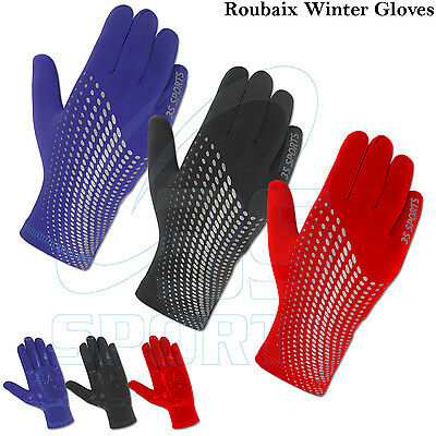 Cycling Winter Gloves Roubaix Full Finger Thermal Bicycle Running Gloves