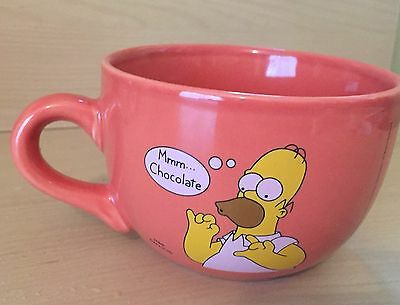 Homer Simpson Mmm Chocolate MUG Large Size Official Licensed