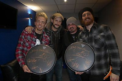 Awesome Black Stone Cherry Autographed Drumhead