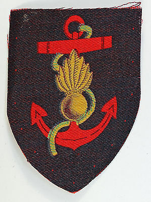 ROYAL MARINES ENGINEERS WW2 Printed Formation Sign Badge