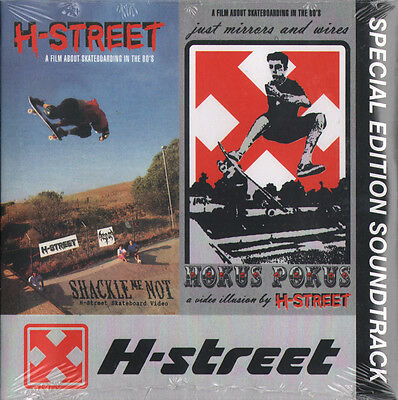 H-Street Skateboard Videos Special Edition Music Soundtrack CD - New & Sealed