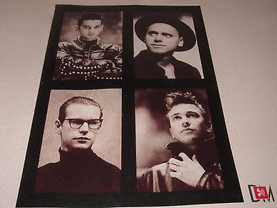 Depeche Mode Music for the Masses photo book