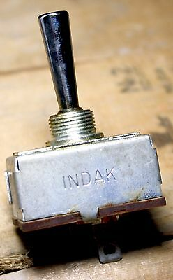 Indak SPDT MO Single Pole Double Throw Momentary On Center Off Switch PTO Type