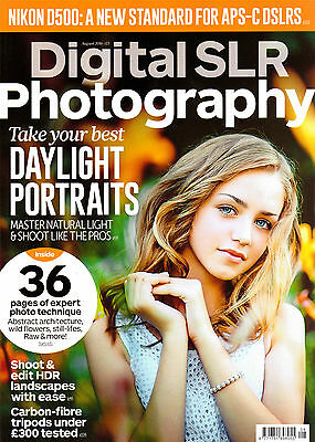 Digital SLR Photography magazine. August 2016. Improve your skills.