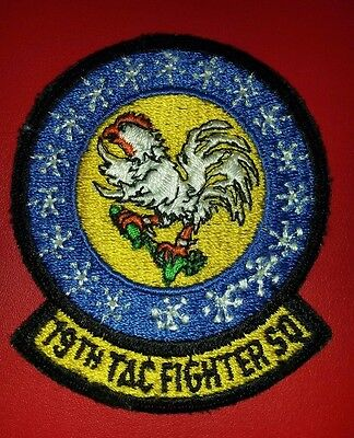 USAF 19th Tactical Fighter Squadron Patch