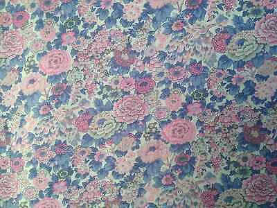 Liberty Lantana - Elysian - Wool/Cotton Blend Fabric 140 Cm Wide