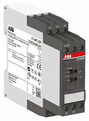 New In The Box. ABB 1SVR730180R3300.Single Time Delay Relay, 0.05 s-300h,2NO/2NC